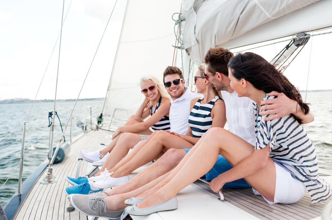Weltweites Boot-Sharing
