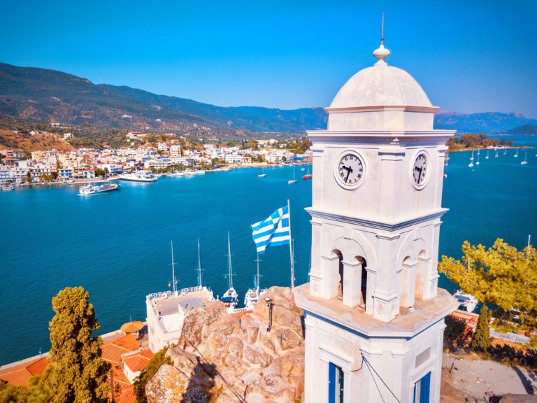 Insel Poros Griechenland